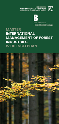 Studiengangsfaltblatt International Management of Forest Industries
