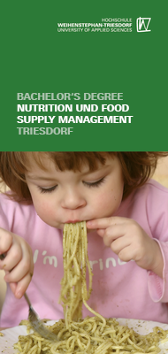 Flyer Nutrition and food supply management