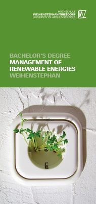 Flyer Management of Renewable Energies