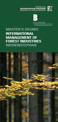 Flyer International Management of Forest Industries