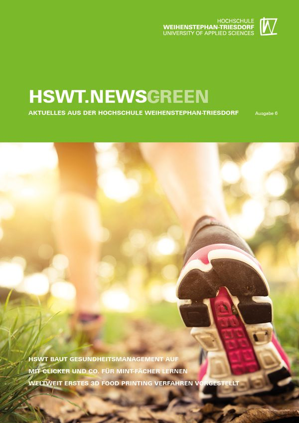 HSWT News.Green – Newsletter der HSWT