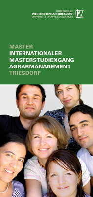 Studiengangsfaltblatt Internationaler Masterstudiengang Agrarmanagement