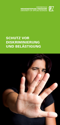 Leaflet on protection against discrimination and harassment
