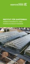 Leaflet: Research by the Institute of Horticulture (in German)